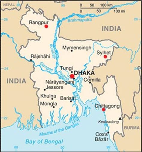 bangladesh latitude longitude and relative location hemisphere