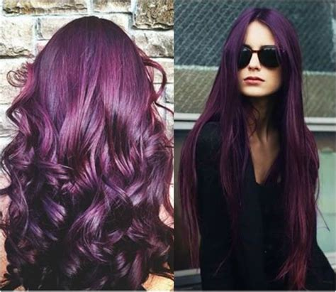 violet hair color 25 best violet hair colors ideas on