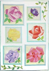 Roses Quilt Pattern by Fabrics Paper And Quilt Patterns On