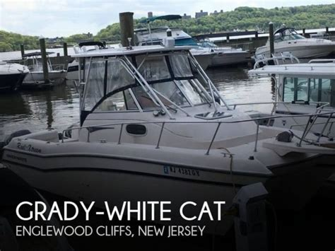 used grady white boats in nj 1997 grady white cat used for sale in alpine new jersey