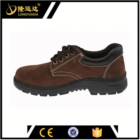 black anti slip lab safety shoes steel toe safety shoes
