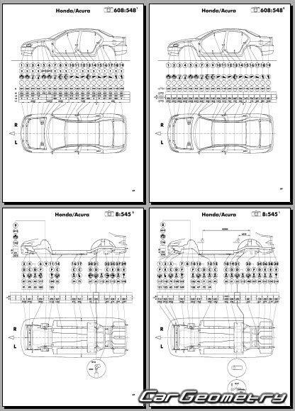 online car repair manuals free 2004 acura tsx electronic throttle control геометрические размеры кузова acura tsx 2004 2008 body
