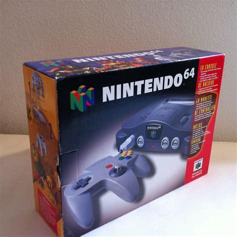 new n64 console console nintendo 64 new boutique univers vintage