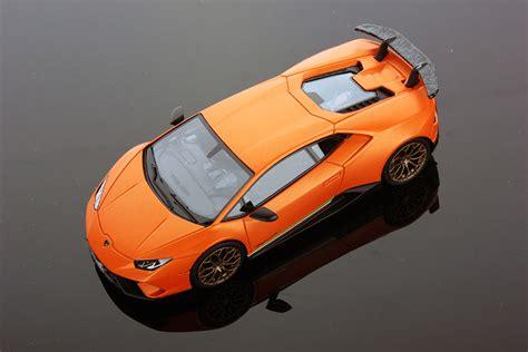 Lamborghini Top Model Huracan Performante At Geneva Motor Show The Model In 1
