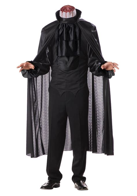 Scary Halloween Costumes For Men Mens Headless Horseman Costume Scary Halloween Costumes
