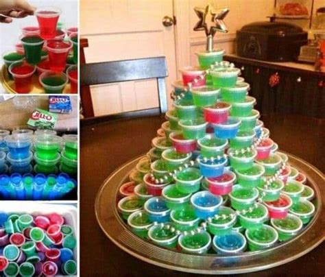 jello shot christmas tree recipe video the whoot