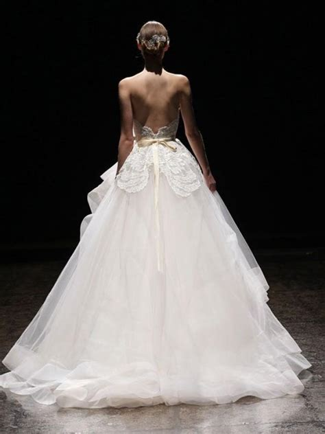 lazaro wedding dresses 2014 wedding lazaro gown 2014 2042205 weddbook