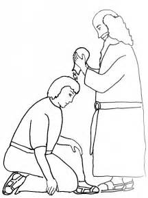 King David Outline by Bible Story Coloring Page For Samuel Anoints King Saul Free Bible Stories For Children