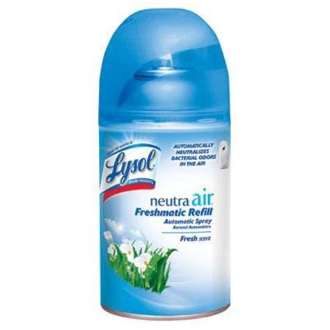 lysol neutra air freshmatic automatic spray dispenser refill fresh scent case