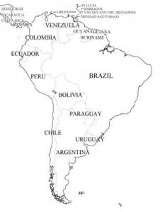 map of south america black and white southamerica wintery