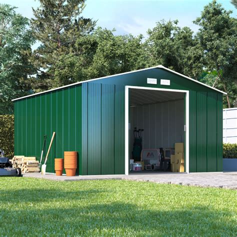 Low Cost Sheds by Billyoh Partner Apex Metal Shed Low Price Doors