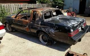1987 Buick Grand National Parts 1987 Buick Grand National Burnt Insurance Salvage Vehicle