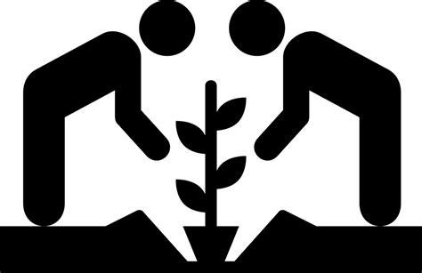 Garden Icon by Free Vector Graphic Community Garden Gardening Icon