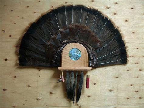 turkey fan mount kit personalized turkey tail fan kit enticer turkey calls