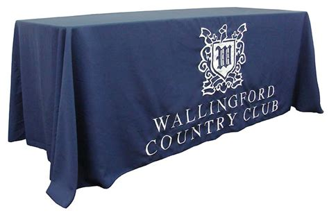 custom table drapes custom banners flags table drapes for companies and