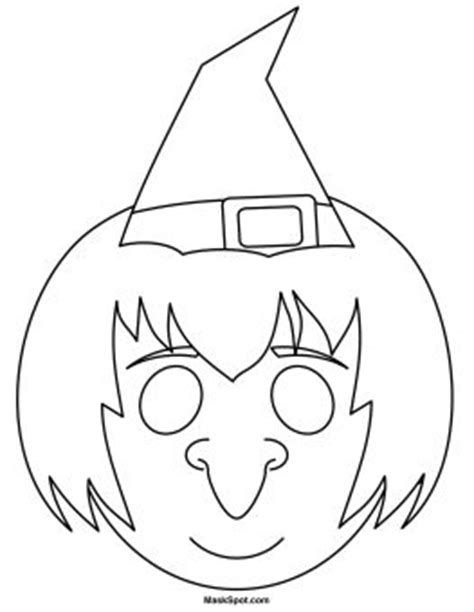 printable witch mask template 1000 images about coloring printable masks on pinterest