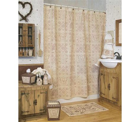 linda spivey shower curtain blonder home expressions punched tin by linda spivey