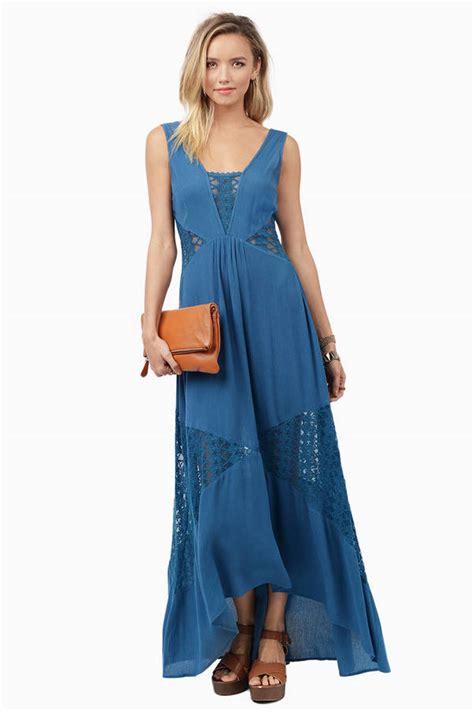 Butterfly Maxy Dress Hq trendy blue maxi dress blue dress lace dress 12 00