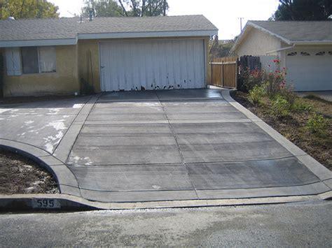 acid wash concrete patio concrete driveway with acid washed bands flickr photo