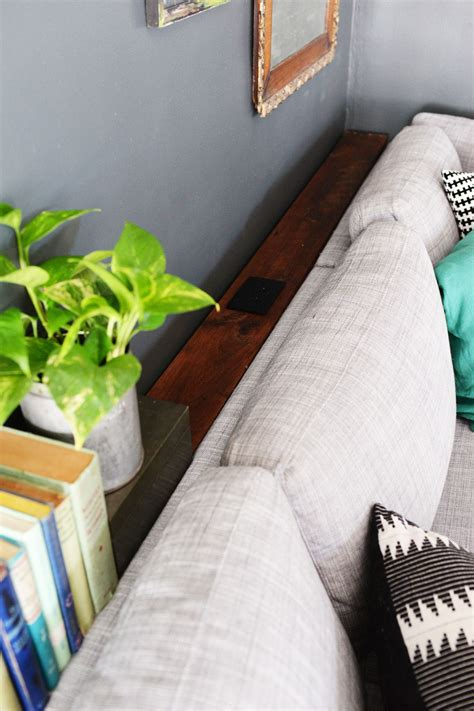 thin table behind couch diy narrow sofa table with outlet