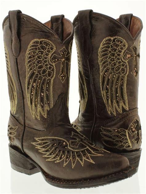 children s cowboy boots kid s children boy youth cowboy boot brown