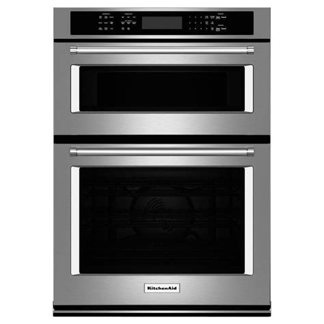 Kitchenaid Microwave Grill Kitchenaid 27 In Electric Even Heat True Convection Wall