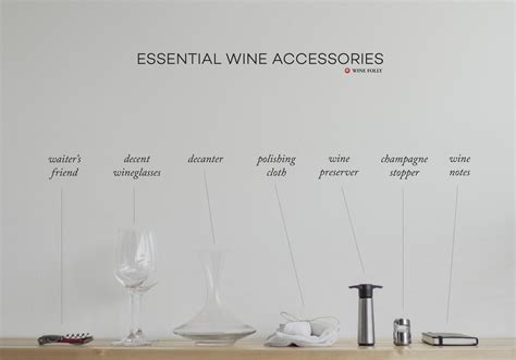 7 Essential Accessories Every Should by Essential List Of Wine Accessories You Ll Need Wine Folly