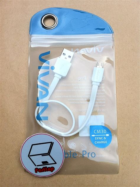 Kabel Data Vivan 30cm Originalkabel Data Micro Usb 1 jual kabel data vivan cable pro micro usb cm30 30cm di