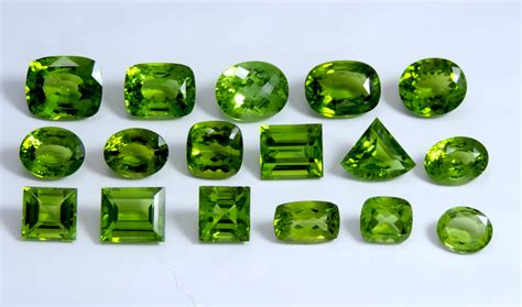 discover the august birthstone peridot