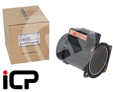 flow subaru service subaru air flow meter orange label genuine parts