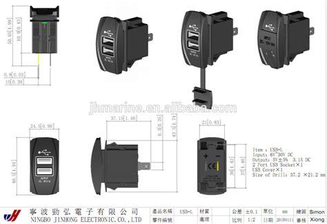 boat rocker switch wiring diagram 33 wiring diagram