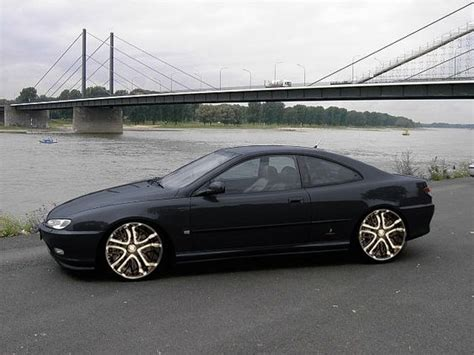 peugeot 406 coupe black peugeot 406 coupe tuning rendering automotive x