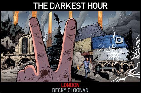darkest hour book sneak peek image of the darkest hour comic book