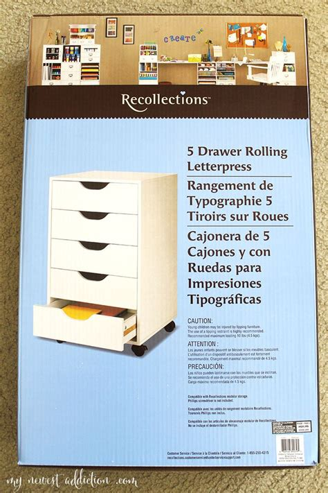 5 drawer letterpress cube 1000 images about crafts recollections on