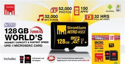 Strontium Nitro 433x Microsdhc Uhs 1 65mbs Class 10 16gb With Otg Card strontium nitro 466x microsdxc uhs 1 70mb s class 10 128gb