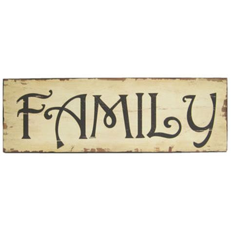 family wood sign home decor family wood wall sign hobby lobby 157297