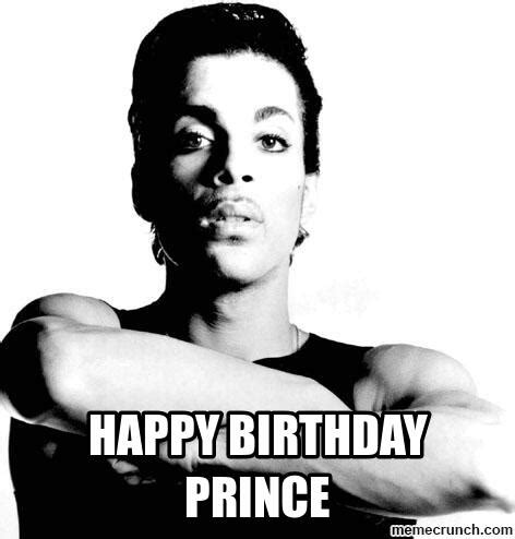 Prince Birthday Meme - happy birthday prince