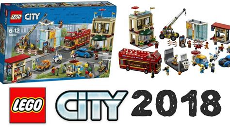 Capital Set lego news lego city 2018 capital set 60200 lego city