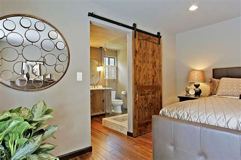 master bedroom door design 25 bedrooms that showcase the beauty of sliding barn doors