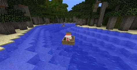 minecraft boat horse boat race map minecraft project