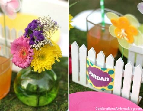 Whimsical Kids Garden Party Ideas Celebrations At Home Garden Birthday Ideas