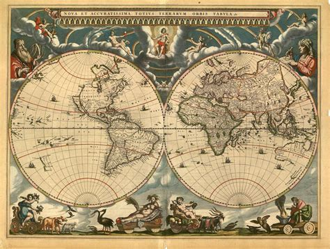 of map collection world atlas 1664 map collection