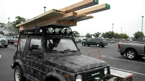 Safari Racks For Trucks by Suzuki Samurai With A Heavy Duty Safari Rack