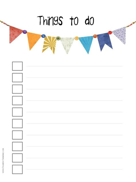 creative to do list template to do list printable jpg 720 215 960 daily planning