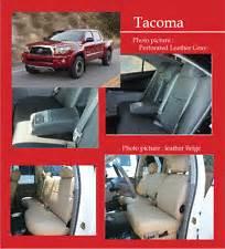 Toyota Tacoma Leather Seats Toyota Tacoma Leather Seats Ebay