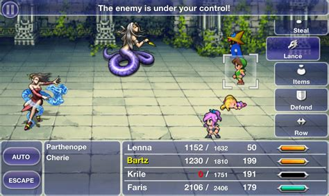 ff5 apk v is heading to android next week crystallis