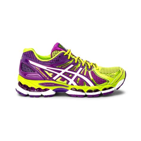 lime green athletic shoes asics gel nimbus 15 womens running shoes lime green