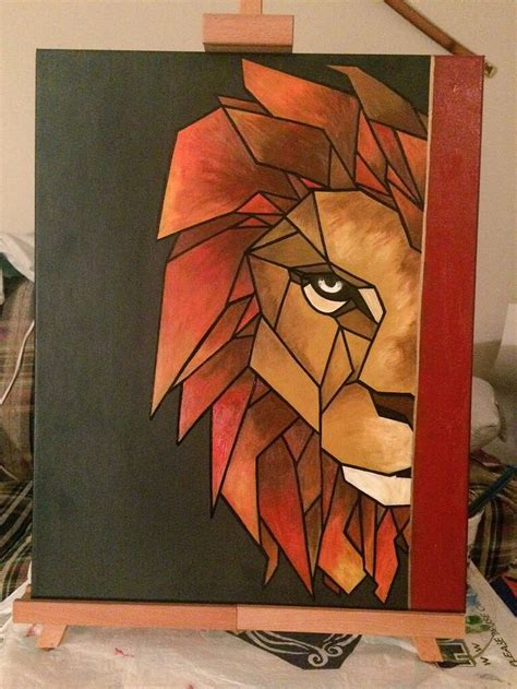 how to paint cubism best 25 geometric painting ideas on diy