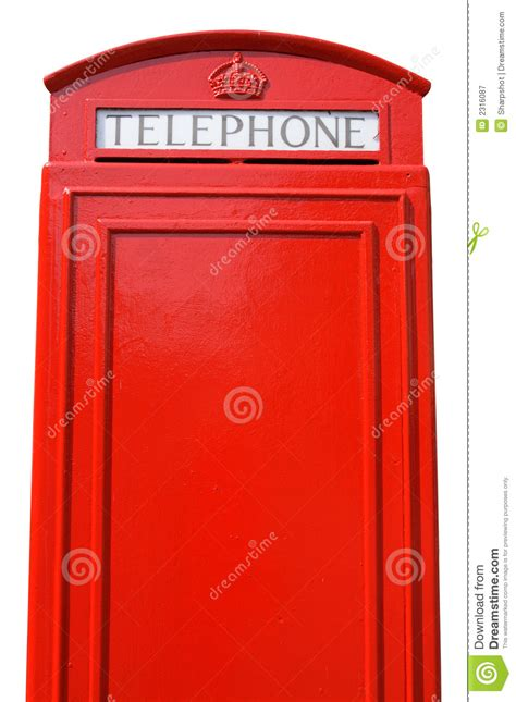 brit box british telephone box royalty free stock photography