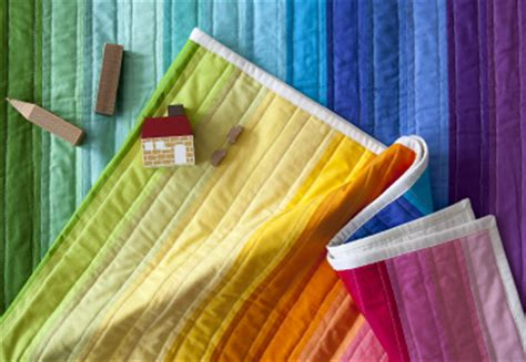 rainbow jelly roll quilt top by jones creativebug